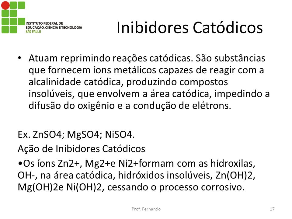 Inibidores Catódicos