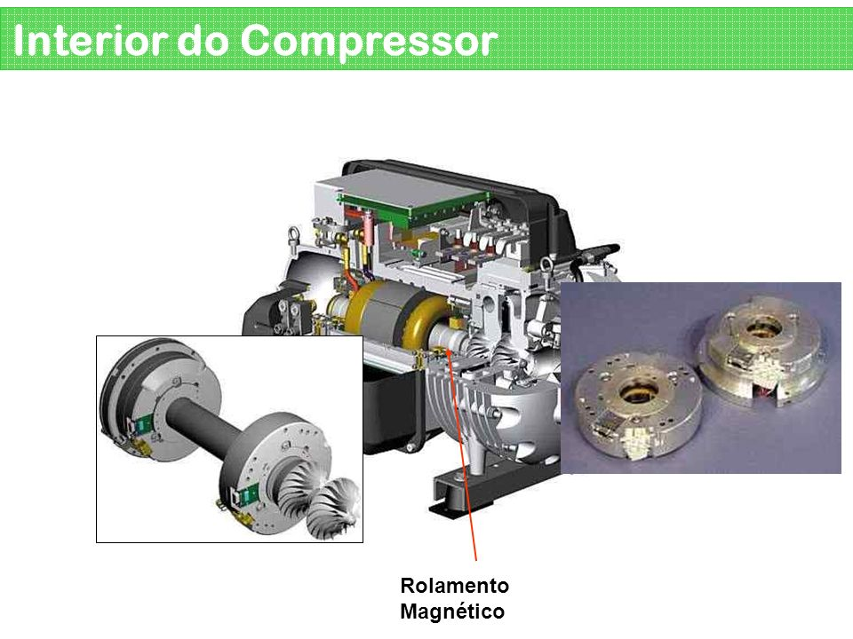 Interior do Compressor