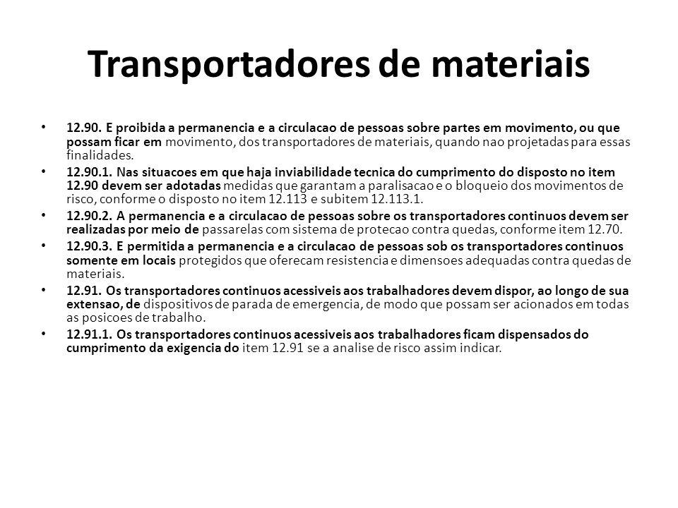 Transportadores de materiais