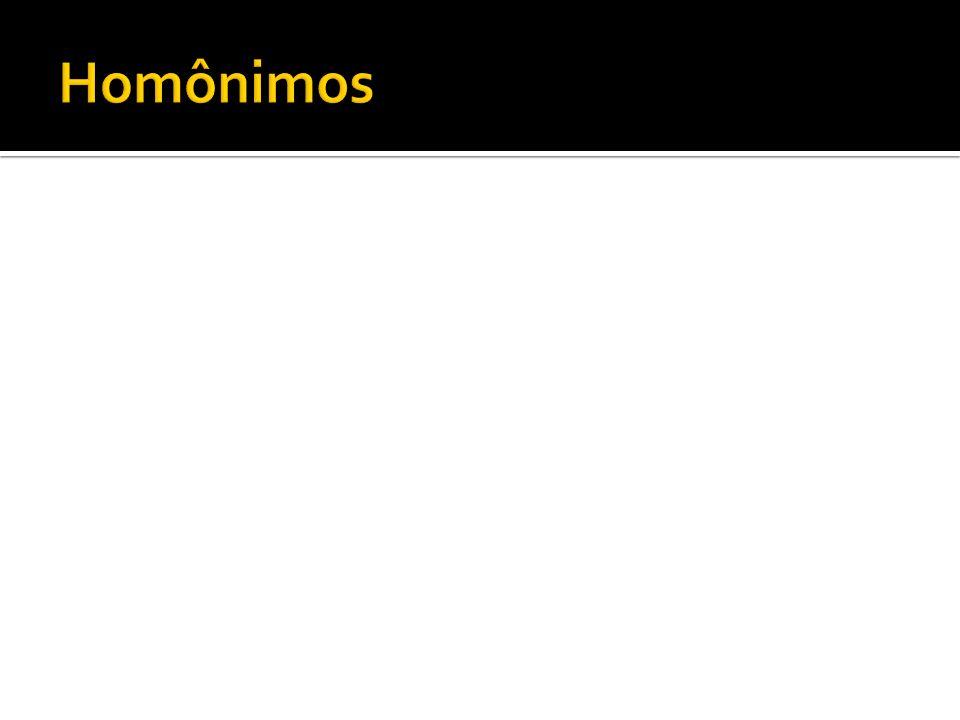 Homônimos