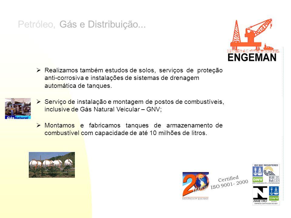 Petróleo, Gás e Distribuição...