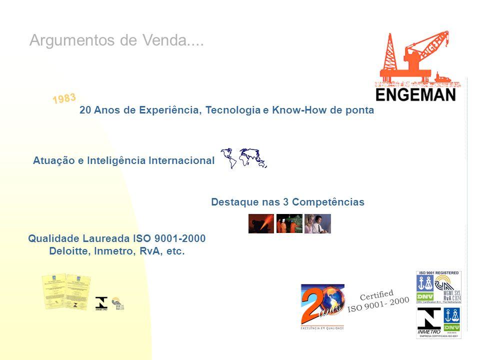 Qualidade Laureada ISO 9001-2000 Deloitte, Inmetro, RvA, etc.