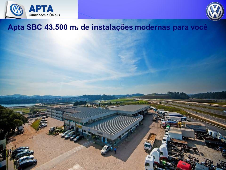 Apta SBC 43.500 m2 de instalações modernas para você
