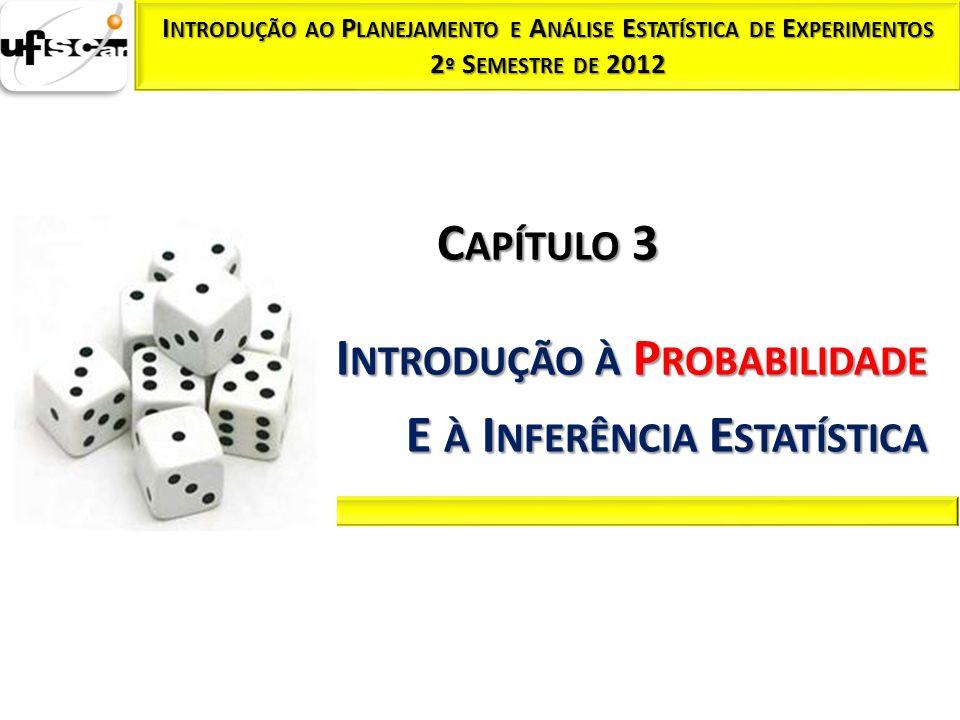 Introdução à Probabilidade E à Inferência Estatística