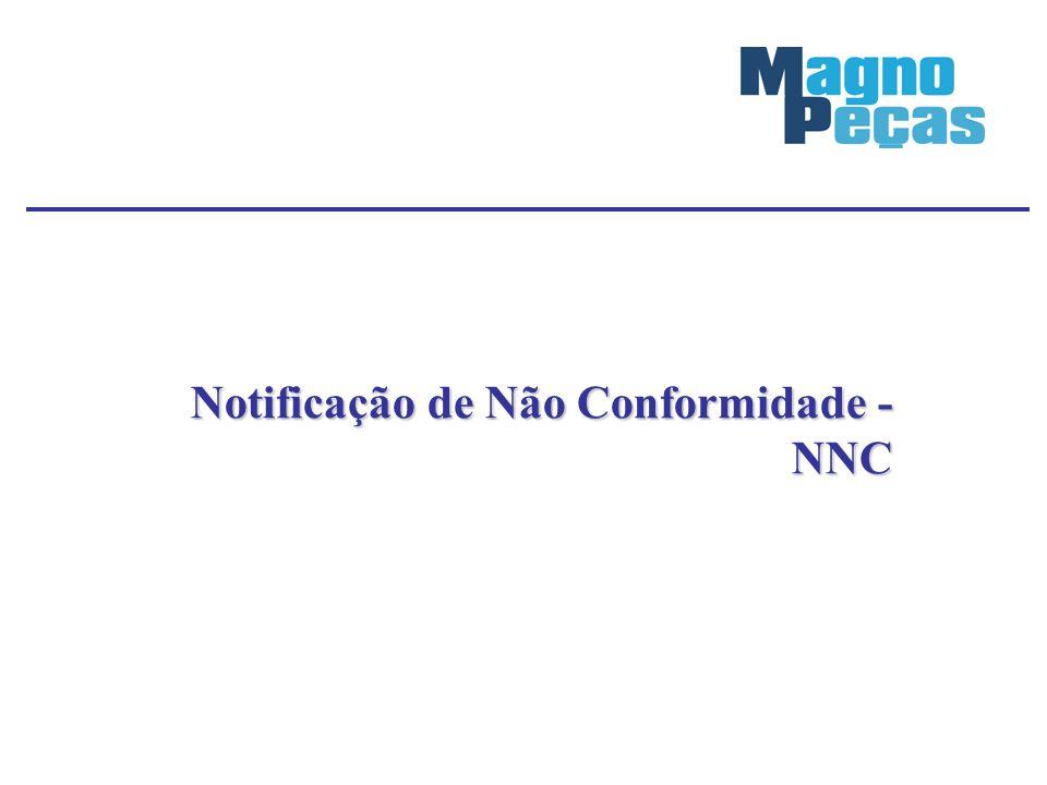 Notificação de Não Conformidade - NNC