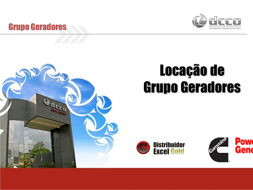 Locação de Grupo Geradores