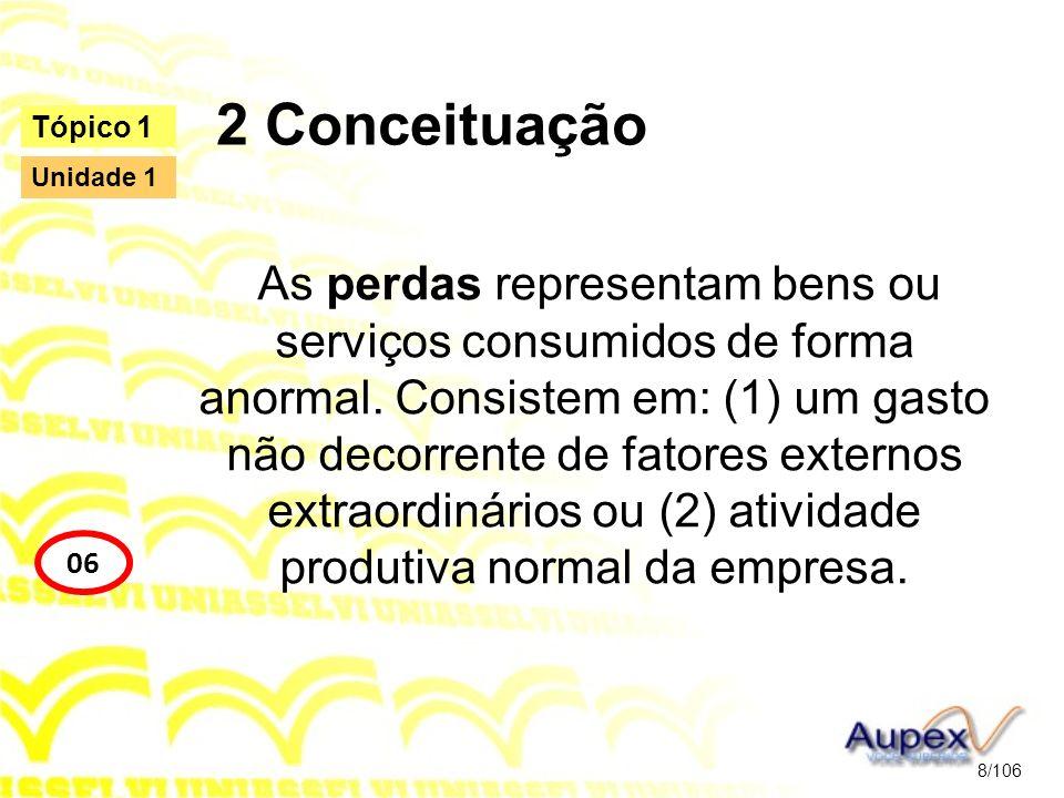 2 Conceituação Tópico 1. Unidade 1.