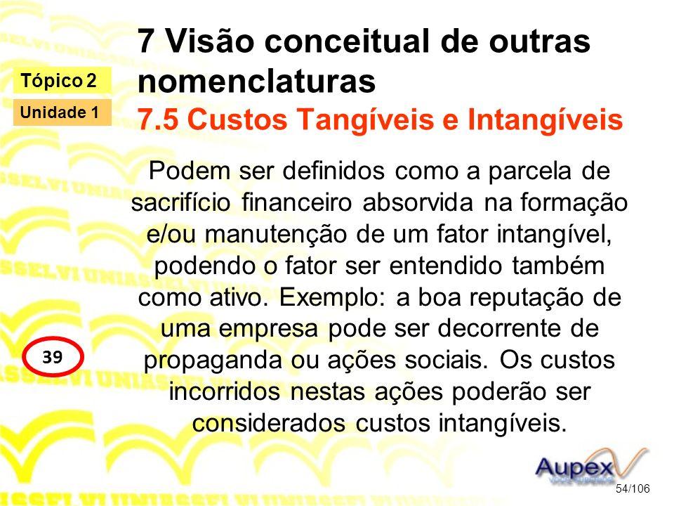 7 Visão conceitual de outras nomenclaturas 7
