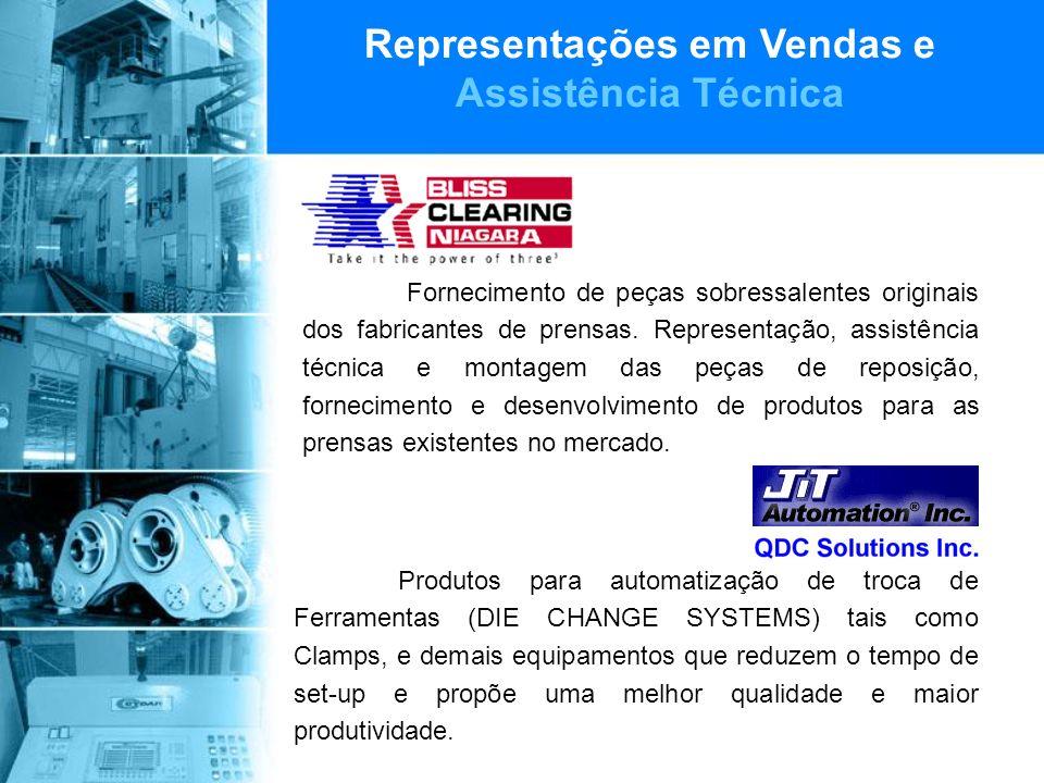 Representações em Vendas e Assistência Técnica