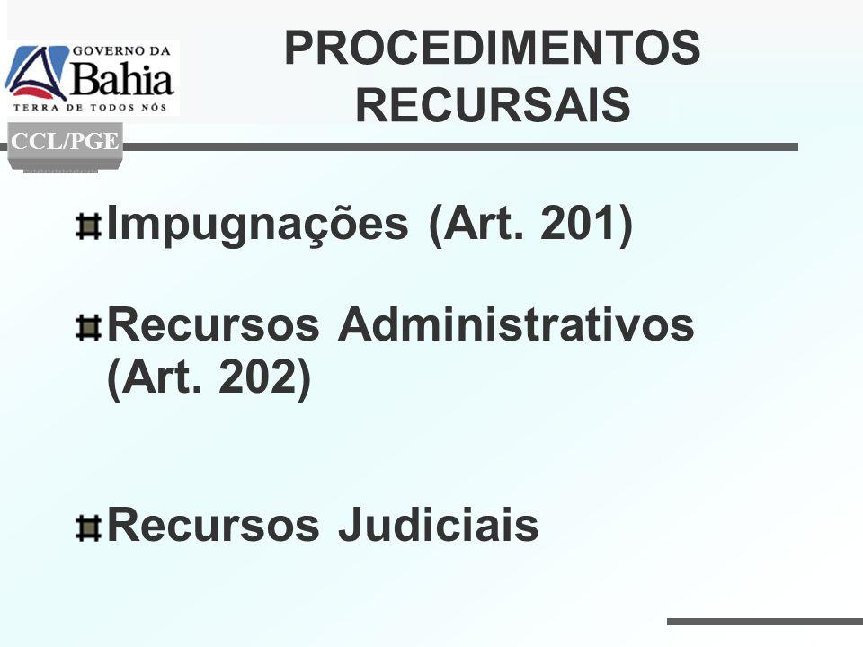 PROCEDIMENTOS RECURSAIS