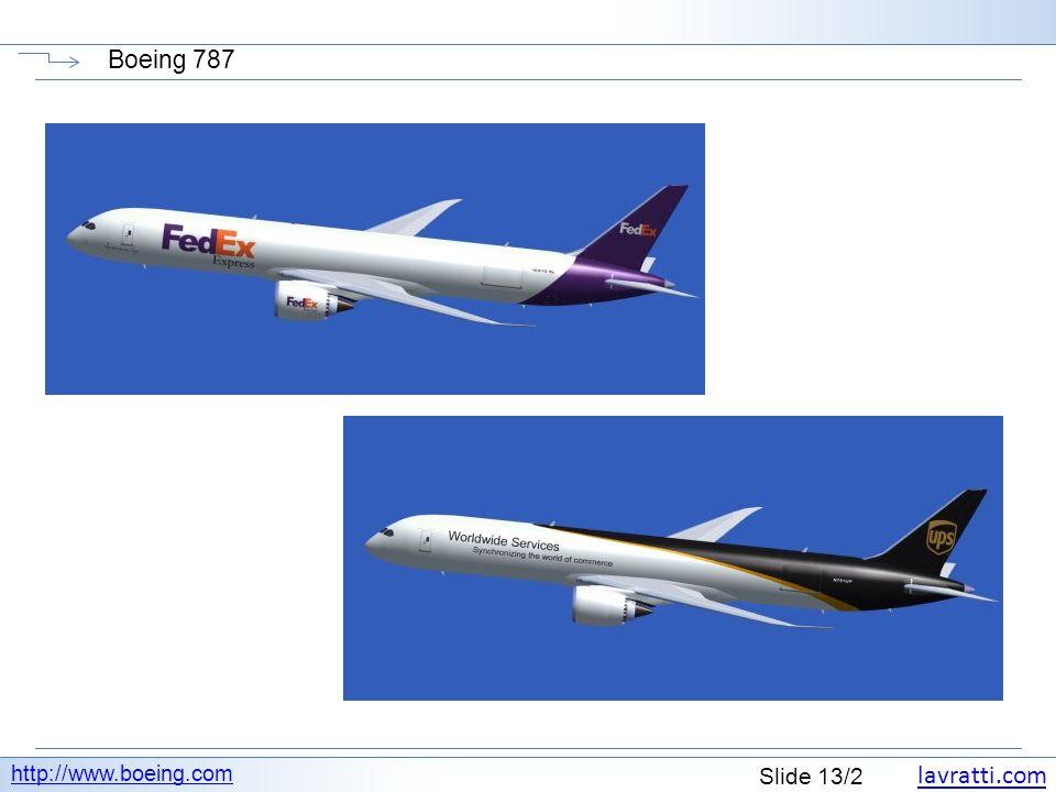 Boeing 787 http://www.boeing.com