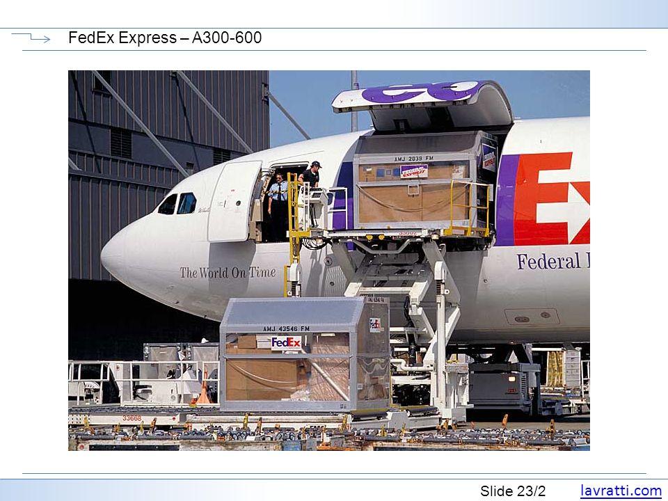 FedEx Express – A300-600