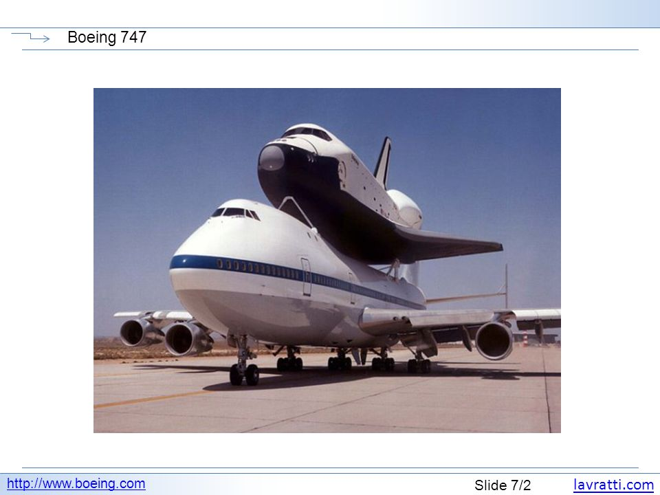 Boeing 747 http://www.boeing.com