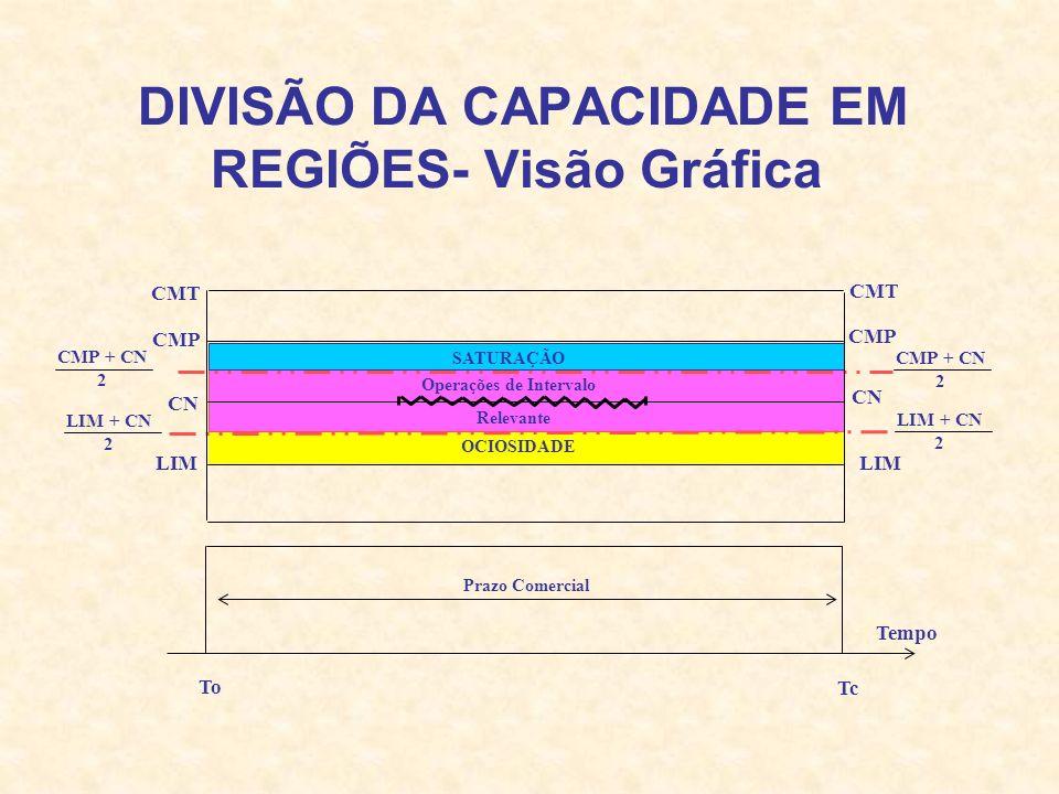 DIVISÃO DA CAPACIDADE EM REGIÕES- Visão Gráfica