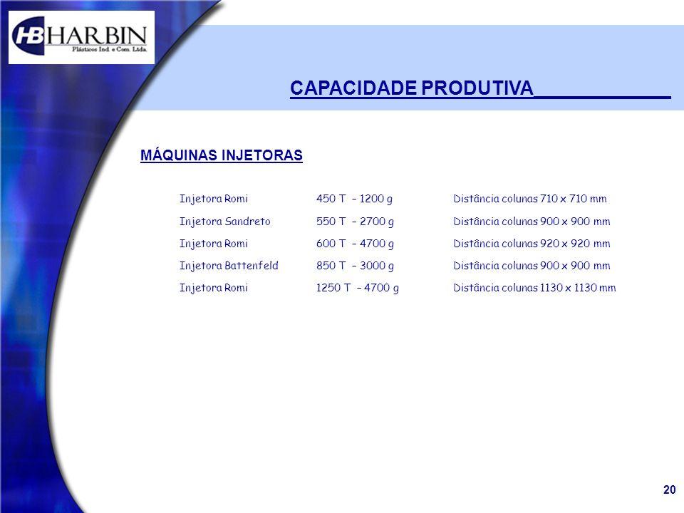CAPACIDADE PRODUTIVA_____________