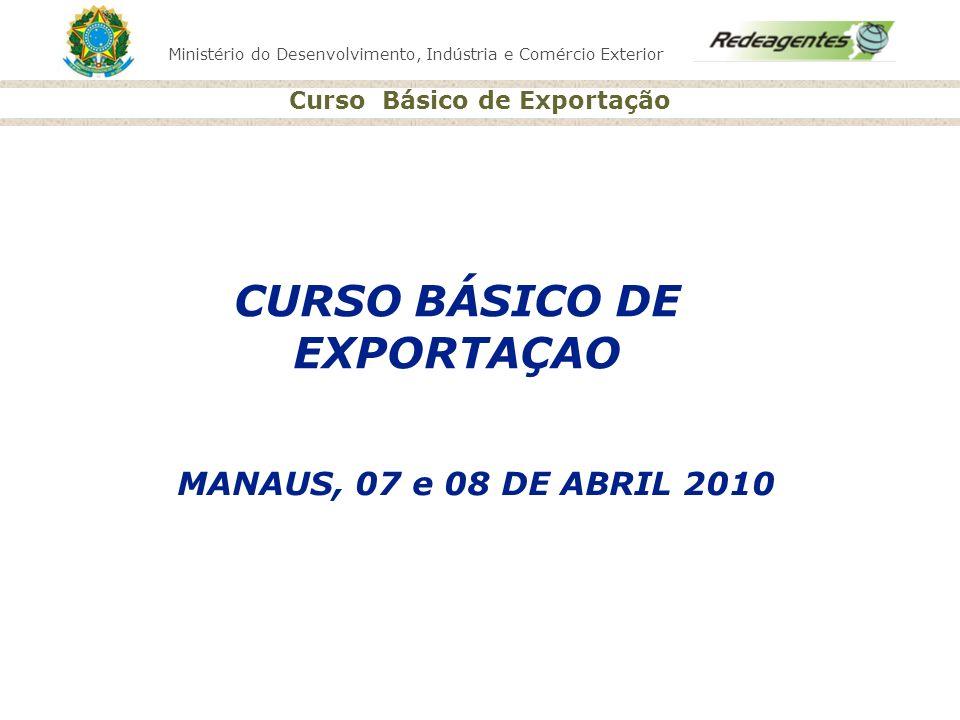 CURSO BÁSICO DE EXPORTAÇAO