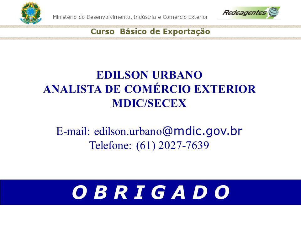 ANALISTA DE COMÉRCIO EXTERIOR