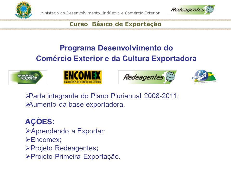 Programa Desenvolvimento do Comércio Exterior e da Cultura Exportadora
