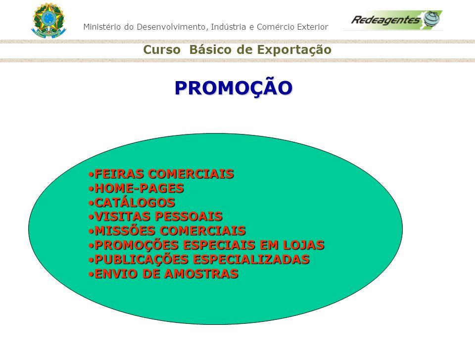 PROMOÇÃO FEIRAS COMERCIAIS HOME-PAGES CATÁLOGOS VISITAS PESSOAIS