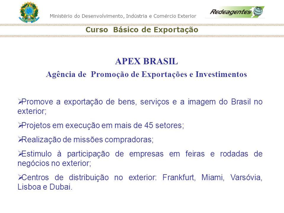 APEX BRASIL Agência de Promoção de Exportações e Investimentos
