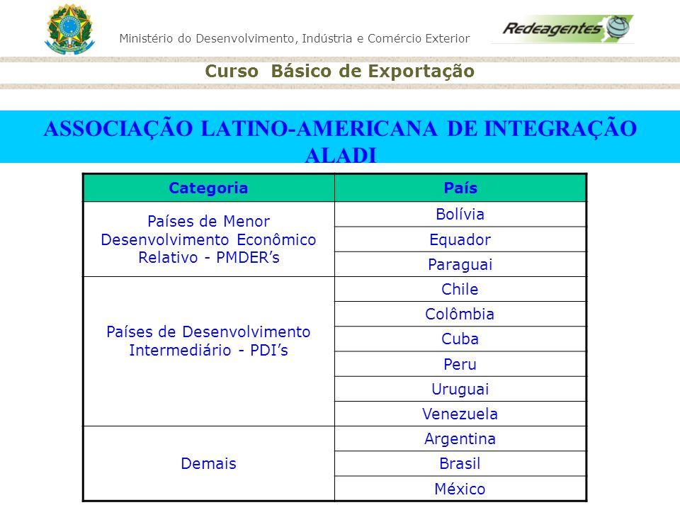 ASSOCIAÇÃO LATINO-AMERICANA DE INTEGRAÇÃO ALADI