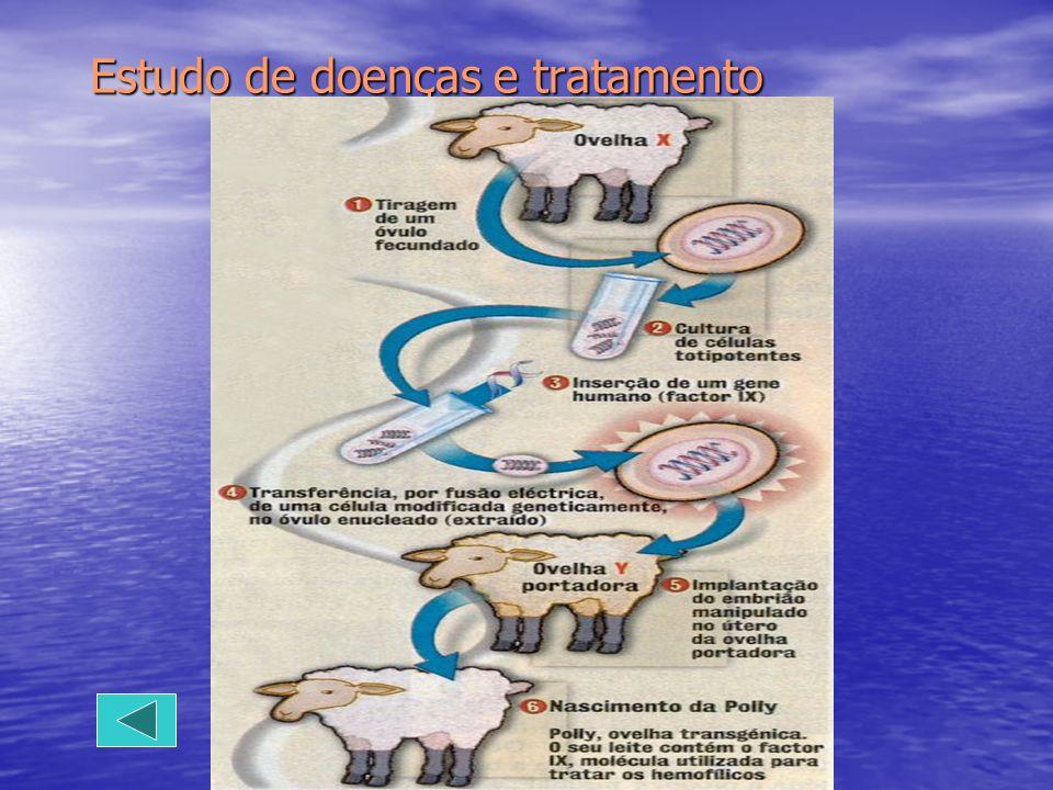 Estudo de doenças e tratamento