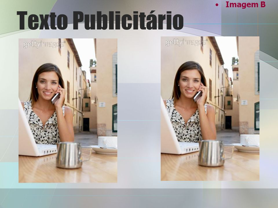 Imagem B Texto Publicitário