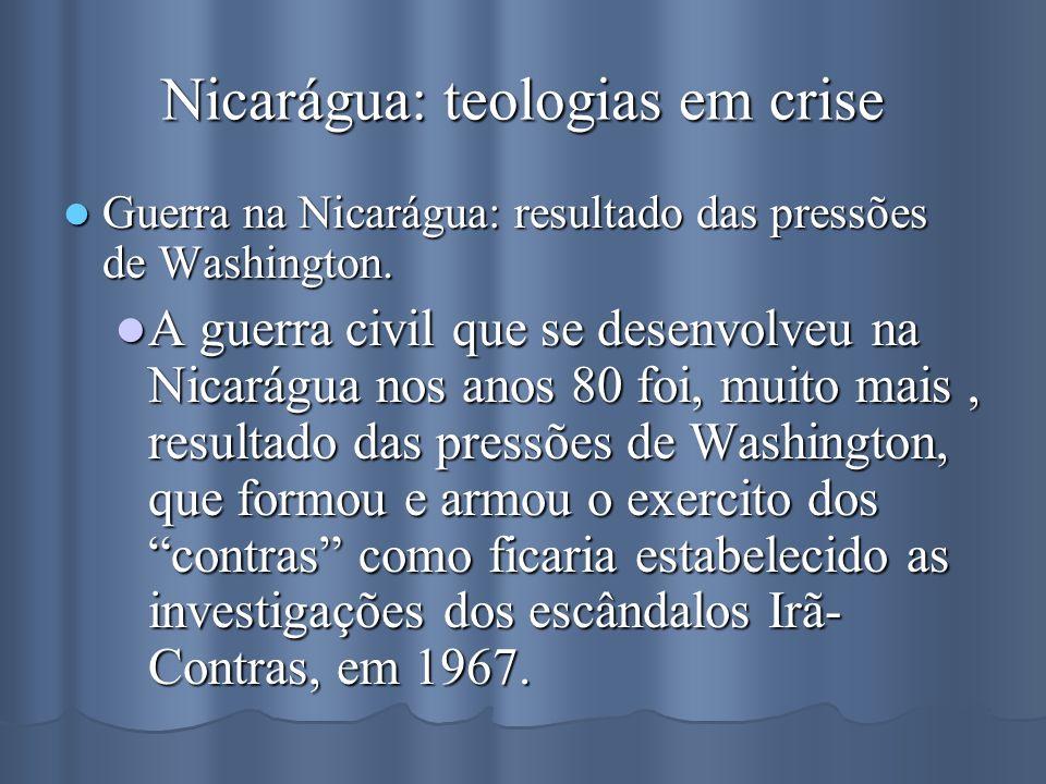 Nicarágua: teologias em crise
