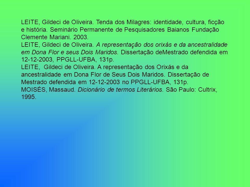 LEITE, Gildeci de Oliveira