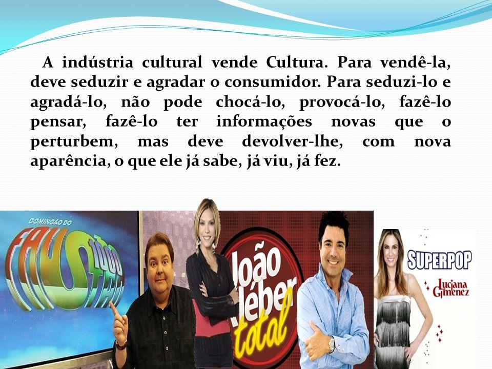 A indústria cultural vende Cultura