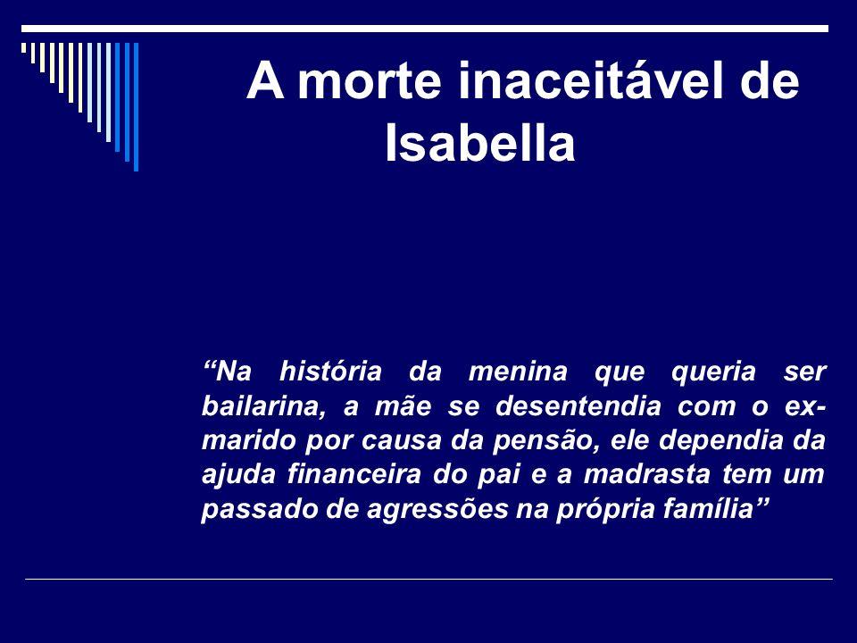 A morte inaceitável de Isabella