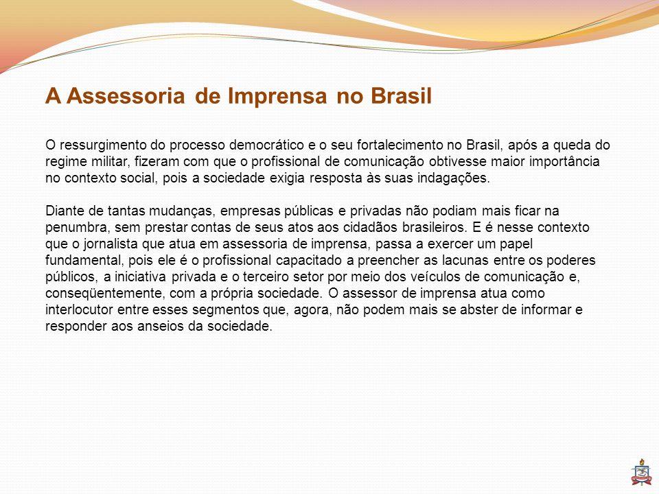 A Assessoria de Imprensa no Brasil