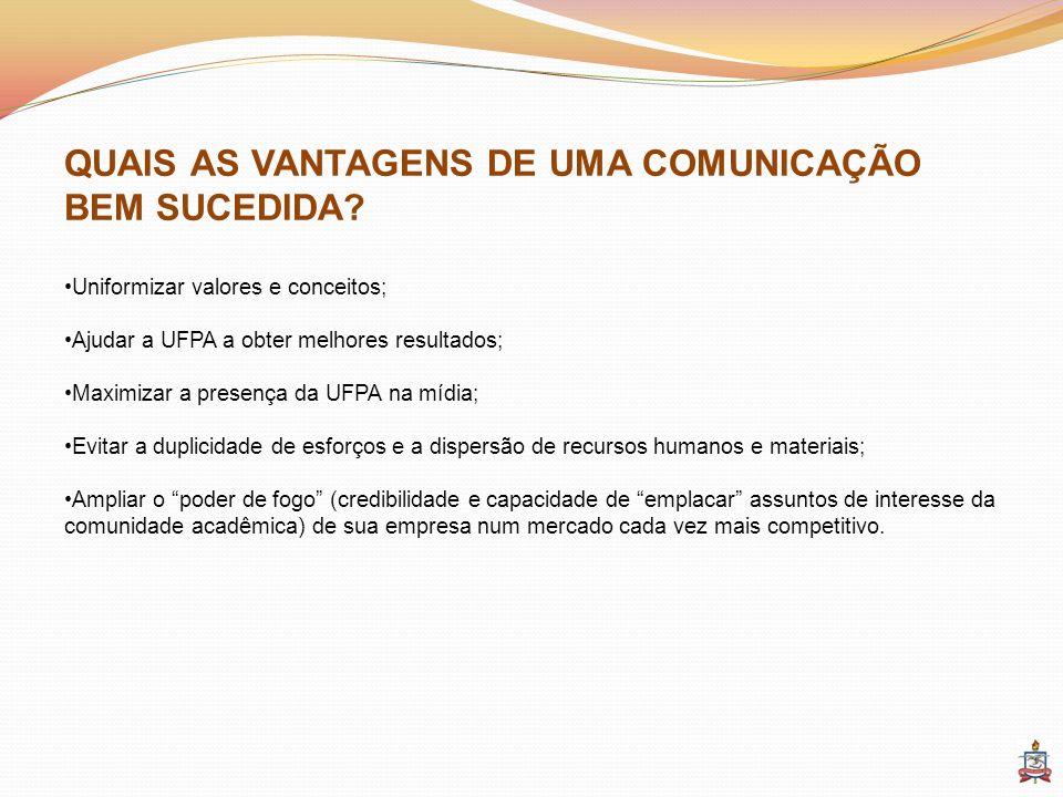 QUAIS AS VANTAGENS DE UMA COMUNICAÇÃO BEM SUCEDIDA