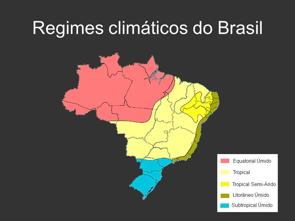 Regimes climáticos do Brasil