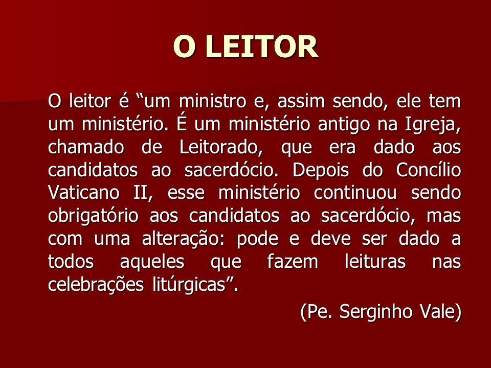 O LEITOR