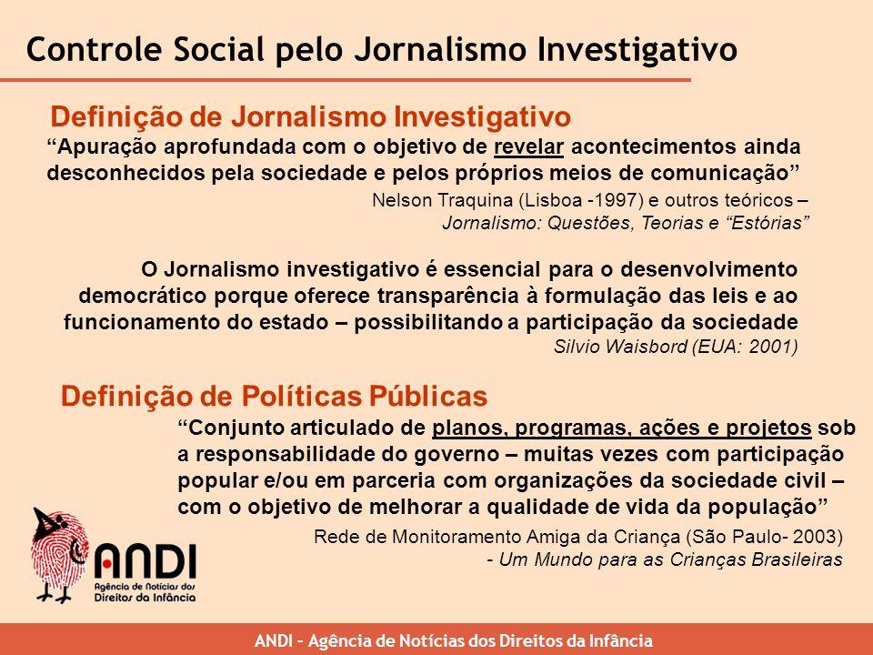 Controle Social pelo Jornalismo Investigativo