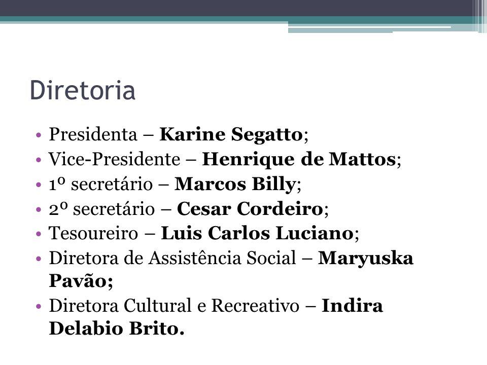 Diretoria Presidenta – Karine Segatto;