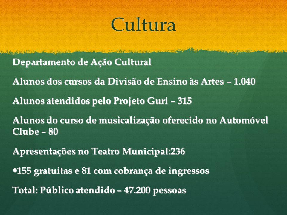 Cultura Departamento de Ação Cultural