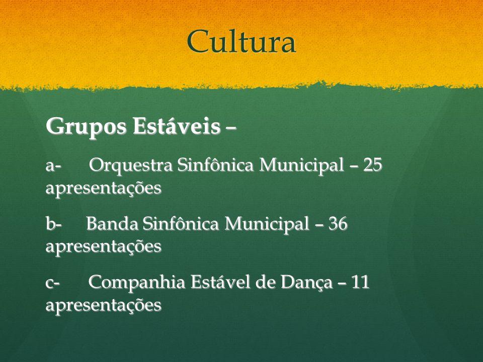 Cultura Grupos Estáveis –