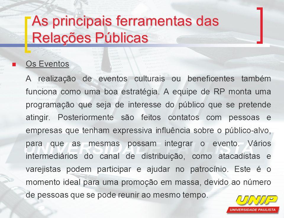 As principais ferramentas das Relações Públicas