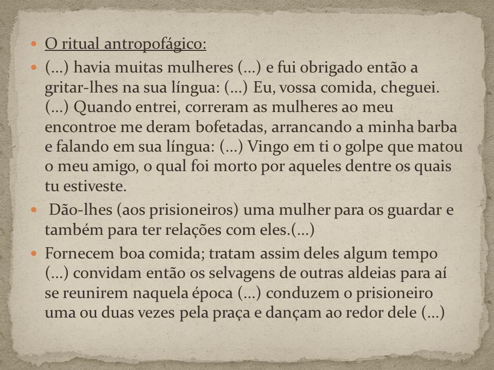 O ritual antropofágico: