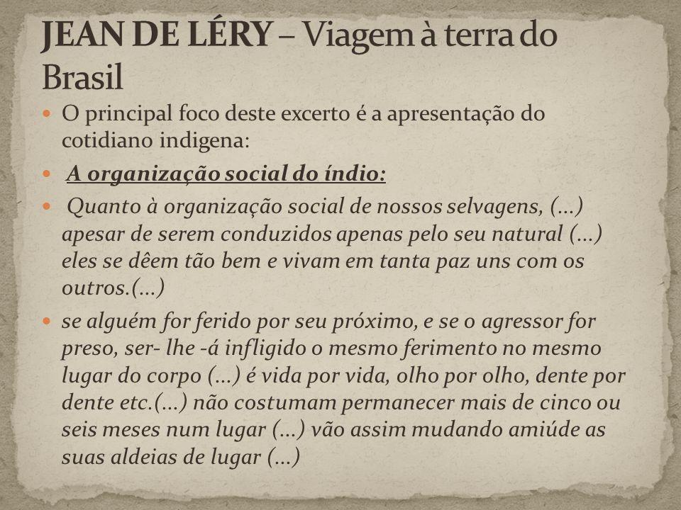 JEAN DE LÉRY – Viagem à terra do Brasil