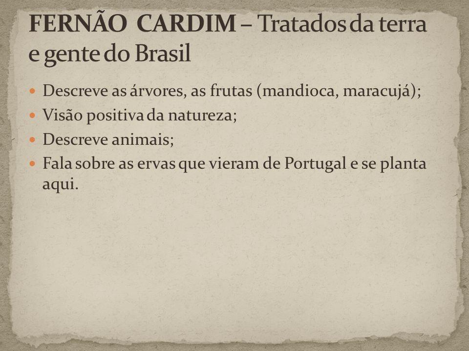 FERNÃO CARDIM – Tratados da terra e gente do Brasil