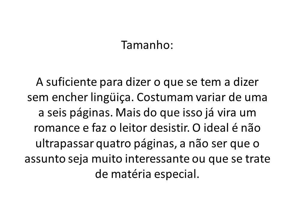 Tamanho: