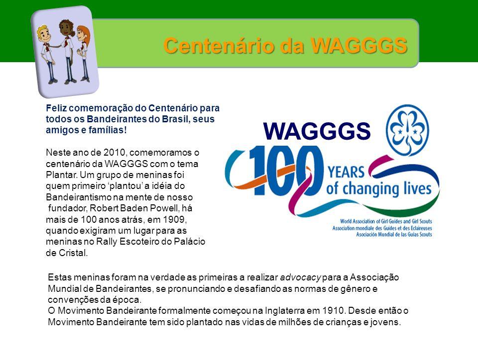 WAGGGS Centenário da WAGGGS