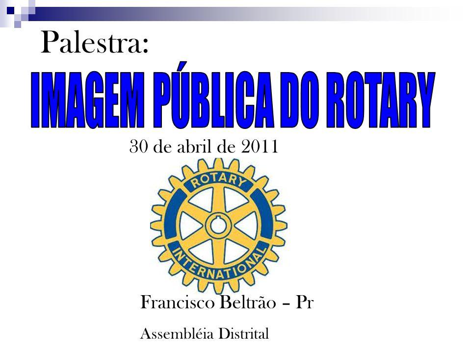 IMAGEM PÚBLICA DO ROTARY