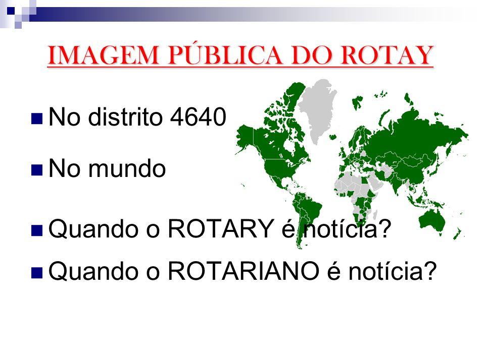 IMAGEM PÚBLICA DO ROTAY