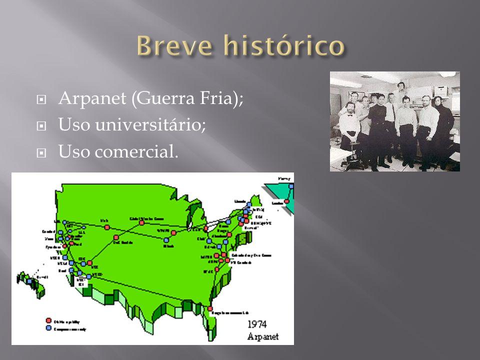 Breve histórico Arpanet (Guerra Fria); Uso universitário;