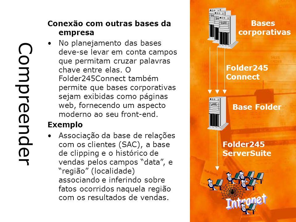 Compreender Intranet Conexão com outras bases da empresa Bases