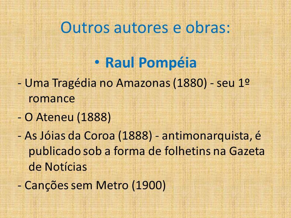 Outros autores e obras: